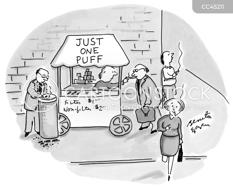 vending cart cartoon