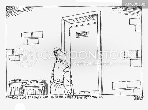 secret clubs cartoon