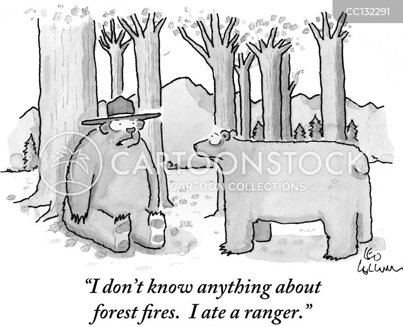 park rangers cartoon