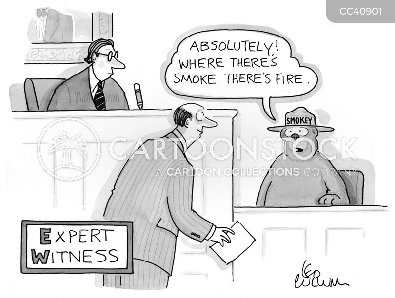 witness cartoon