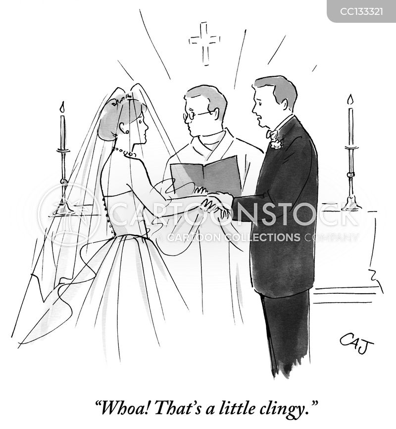 Runaway Bride cartoon
