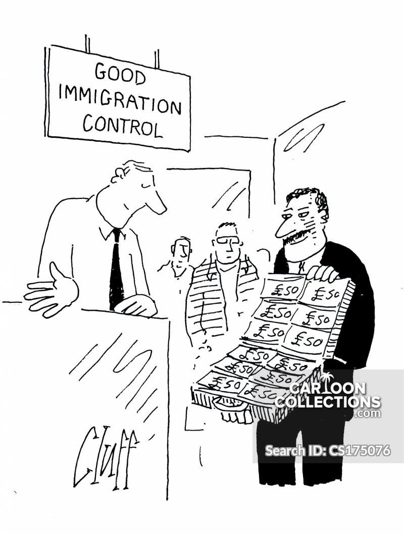 immigrates cartoon