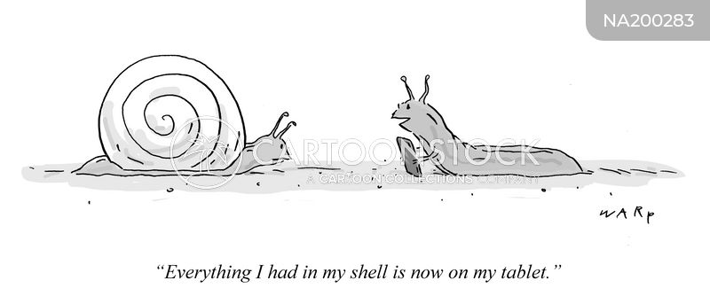 slugs cartoon