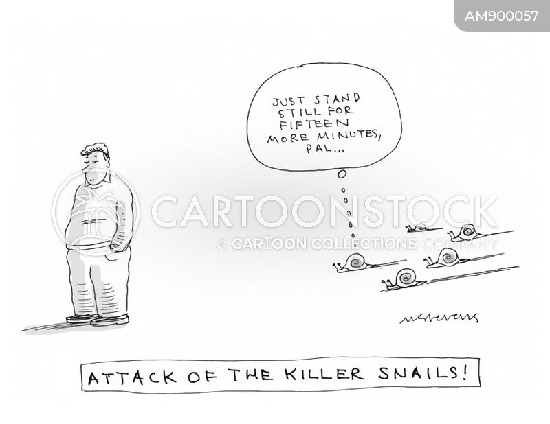 slows cartoon