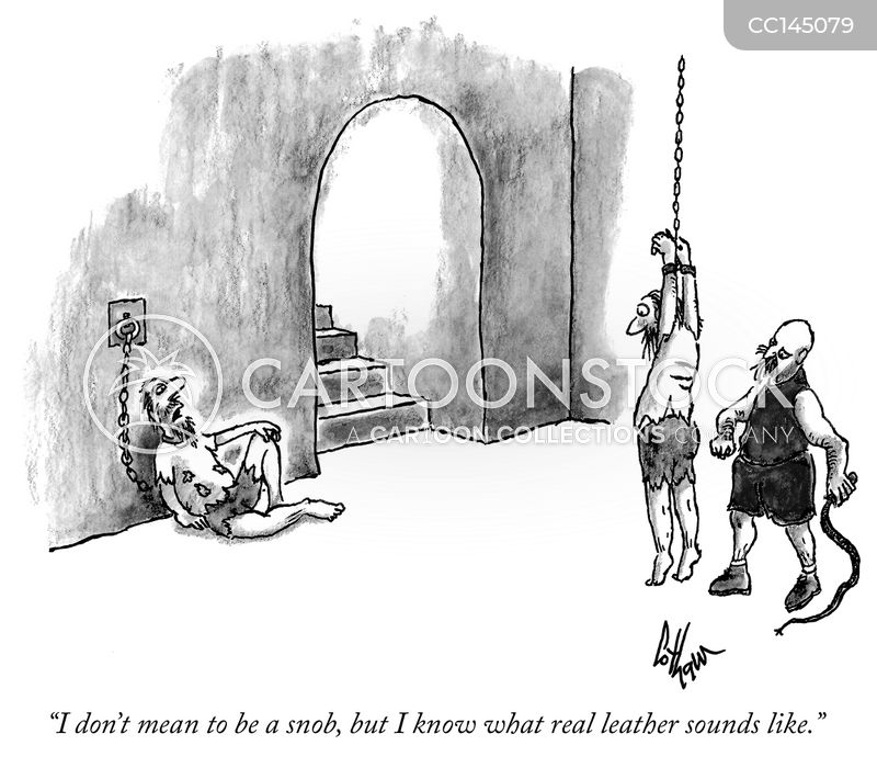 real leather cartoon