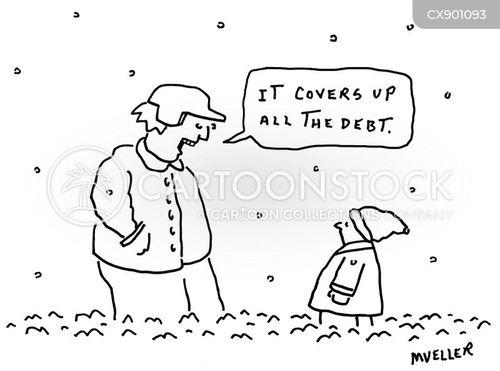 snow days cartoon