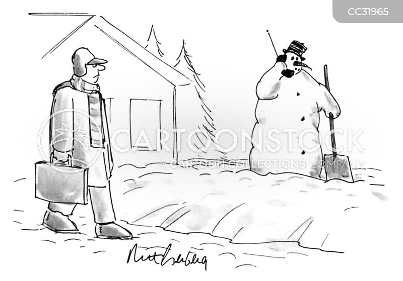 winter cartoon
