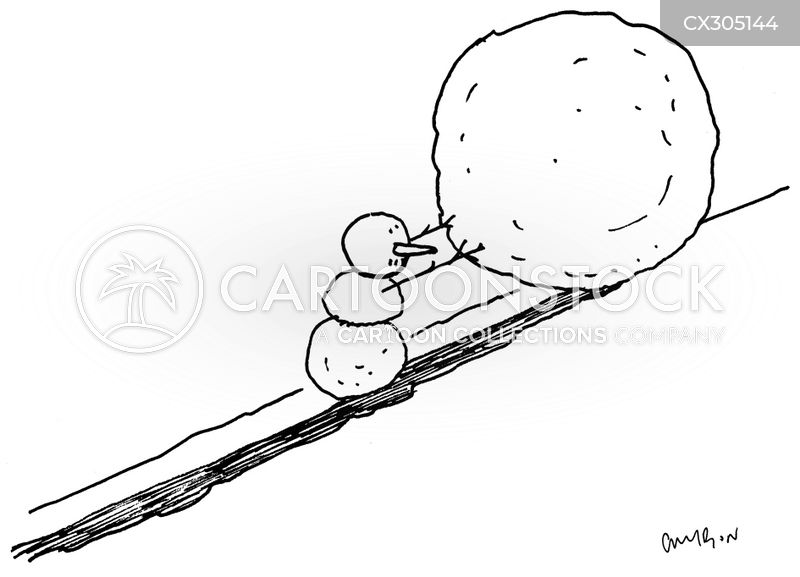 snowball cartoon