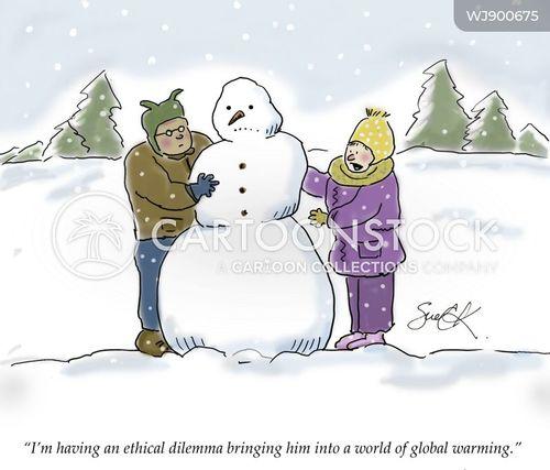 dilemma cartoon