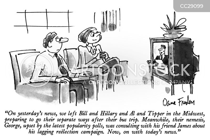 life on the campaign trail cartoon