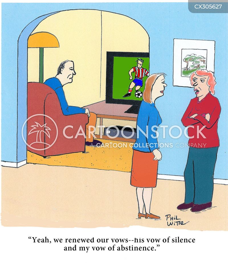 Vow Of Abstinence cartoon