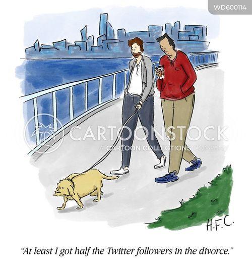 divorce settlement cartoon