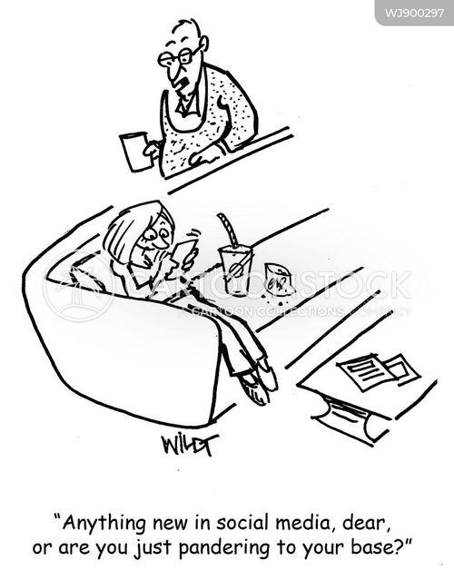 influencer cartoon