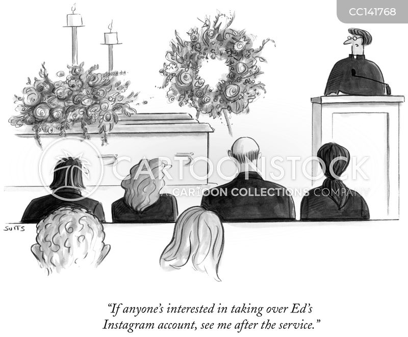 Funerals cartoon