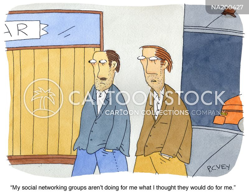 socialise cartoon
