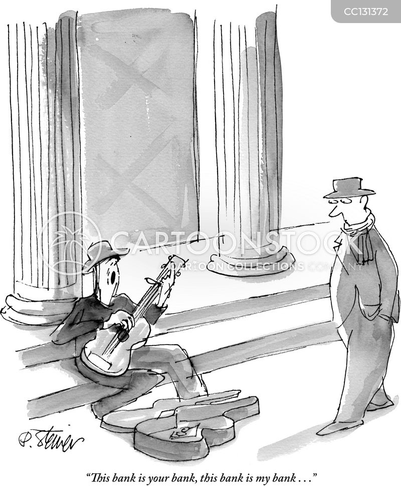 buskers cartoon