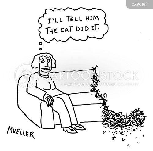 arm chair cartoon
