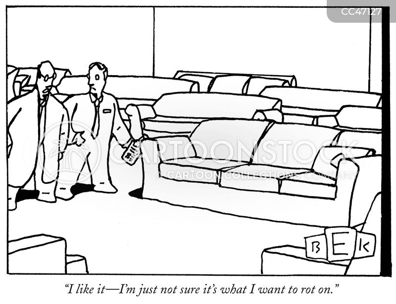 furniture shop cartoon