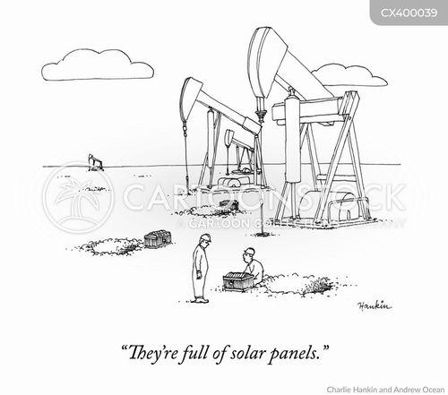 carbon emission cartoon