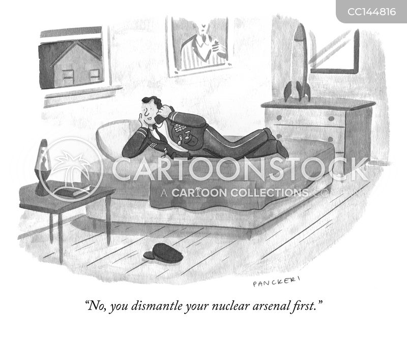 Nuclear Weapons cartoon