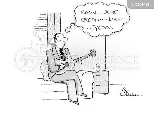guitars cartoon