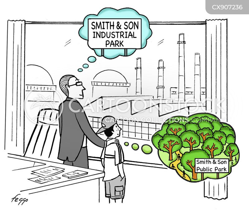 industries cartoon