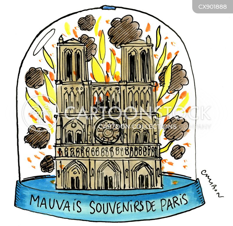 paris cartoon