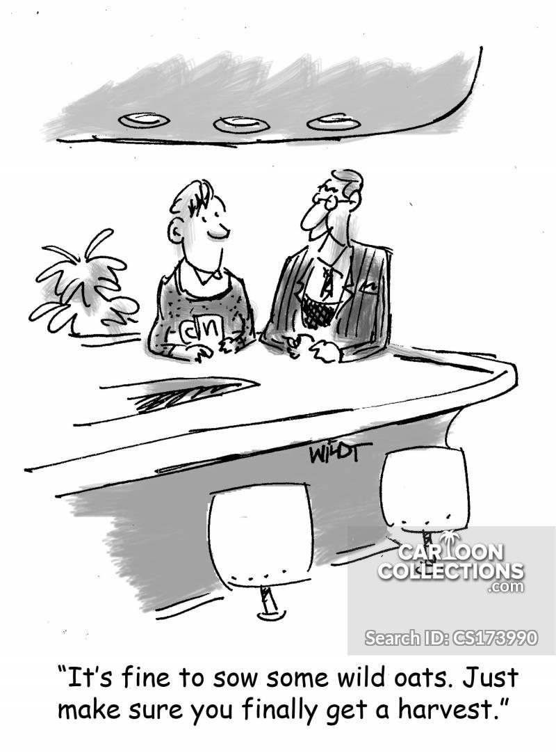 wild oats cartoon