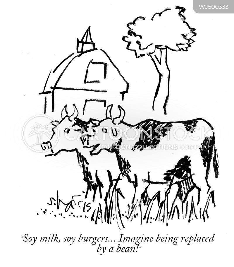 dairy products cartoon