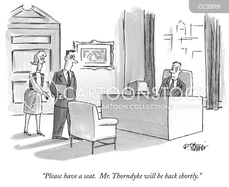 corporate cartoon