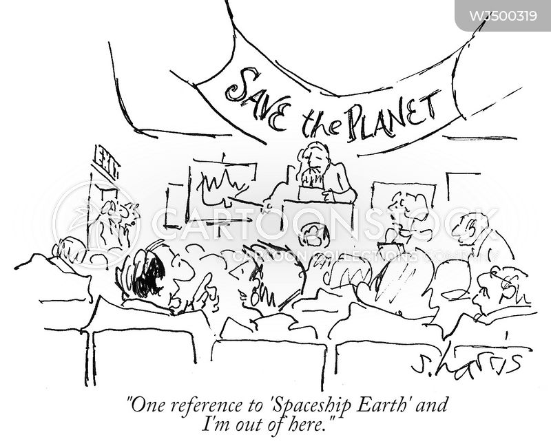 save the planet cartoon