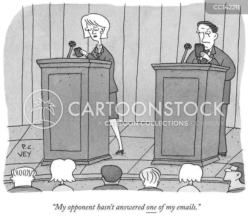 Public Debates cartoon