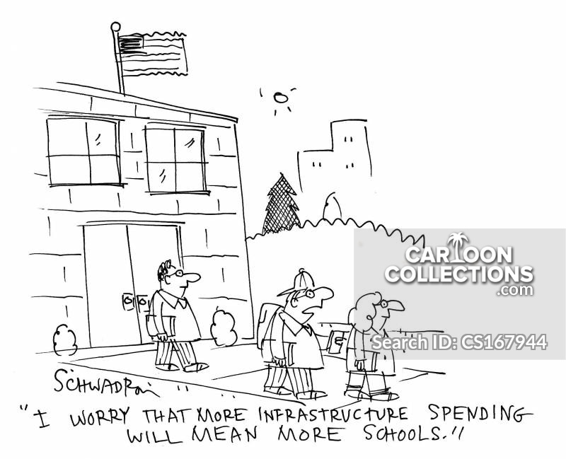 infastructure cartoon