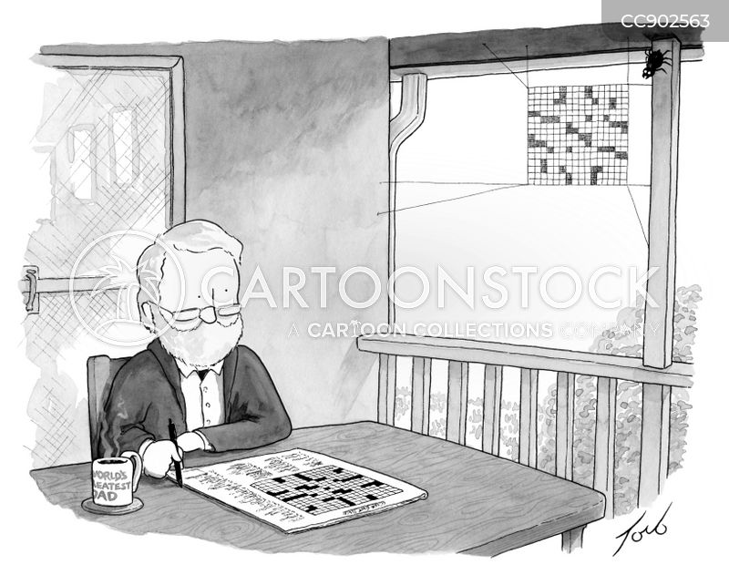 word puzzles cartoon