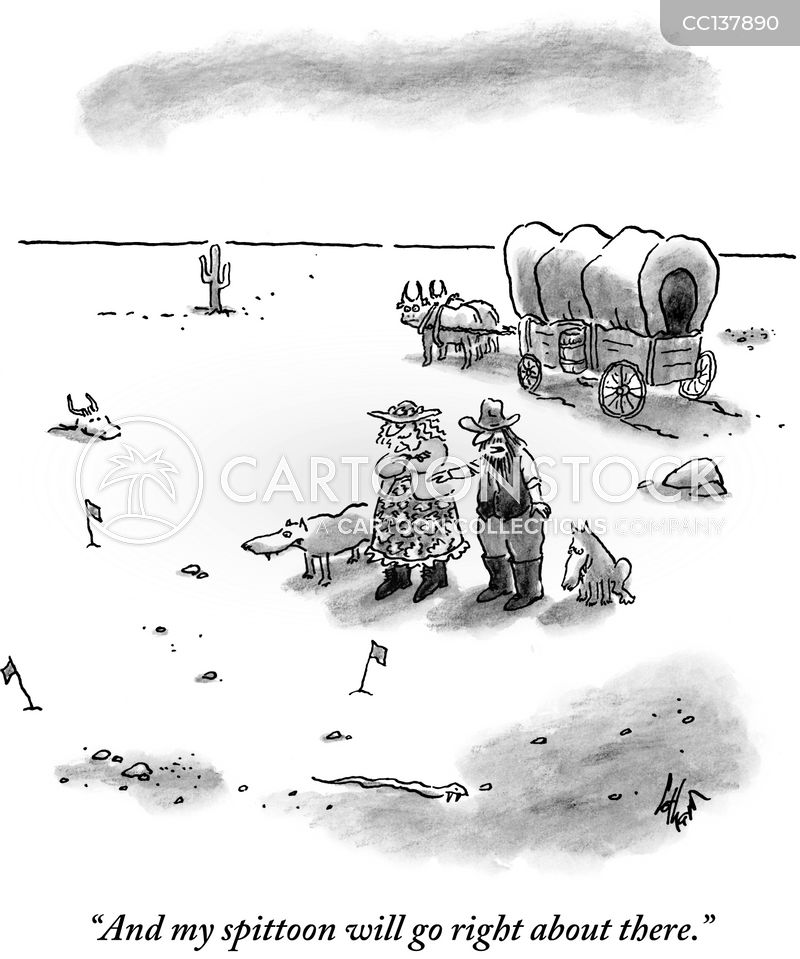 pioneers cartoon