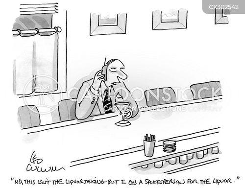 spokespeople cartoon