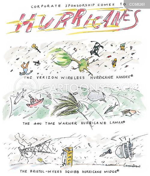hurricanes cartoon