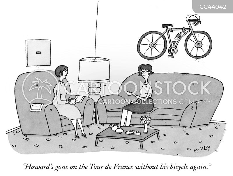Bikes cartoon