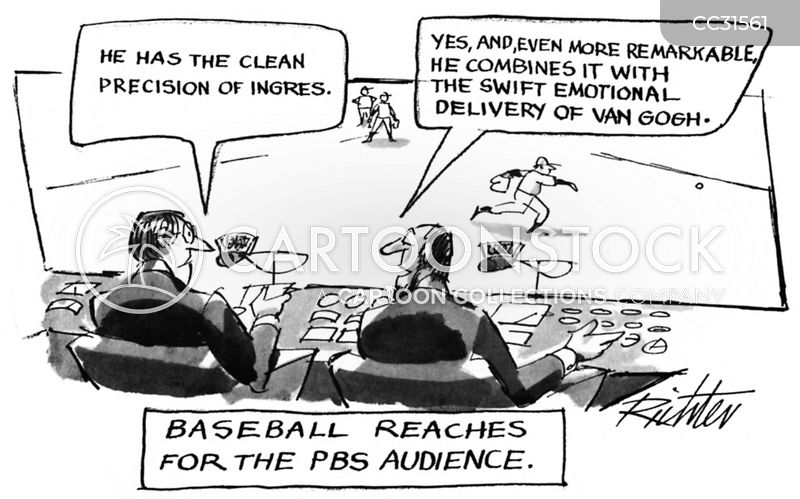 Public Broadcasters cartoon