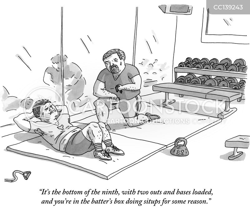 Ninth Innings cartoon