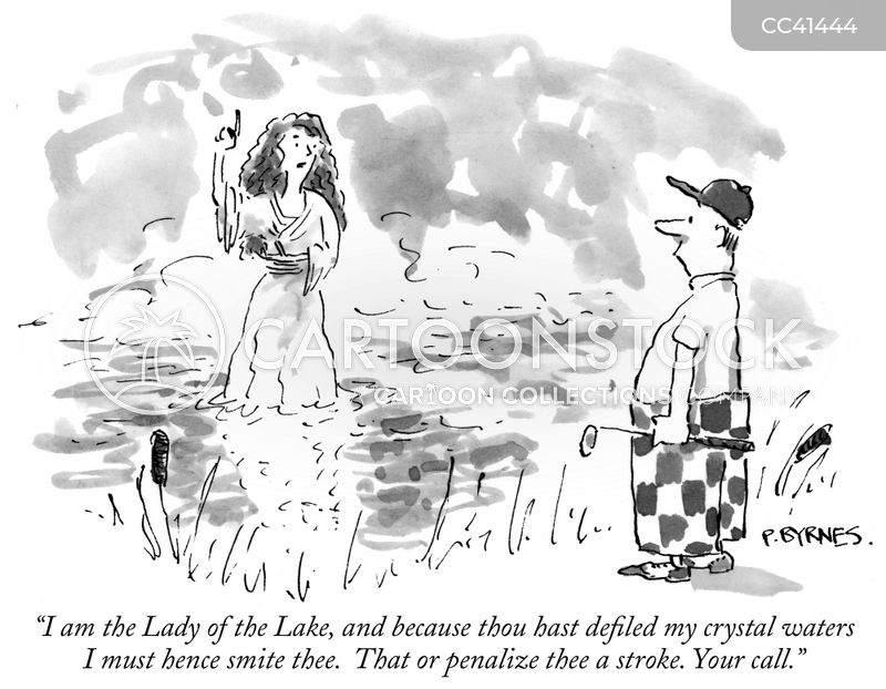 water traps cartoon