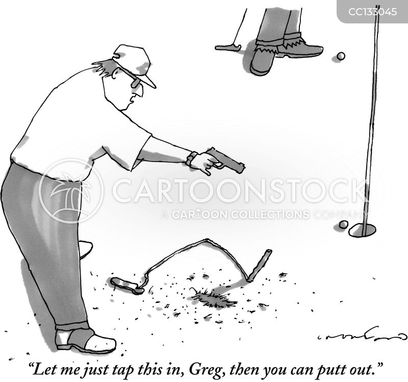 Putters cartoon