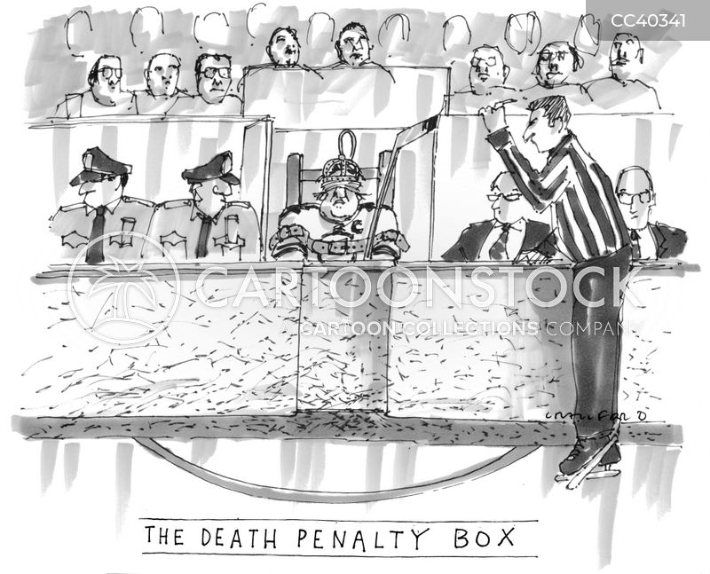 capital punishment cartoon