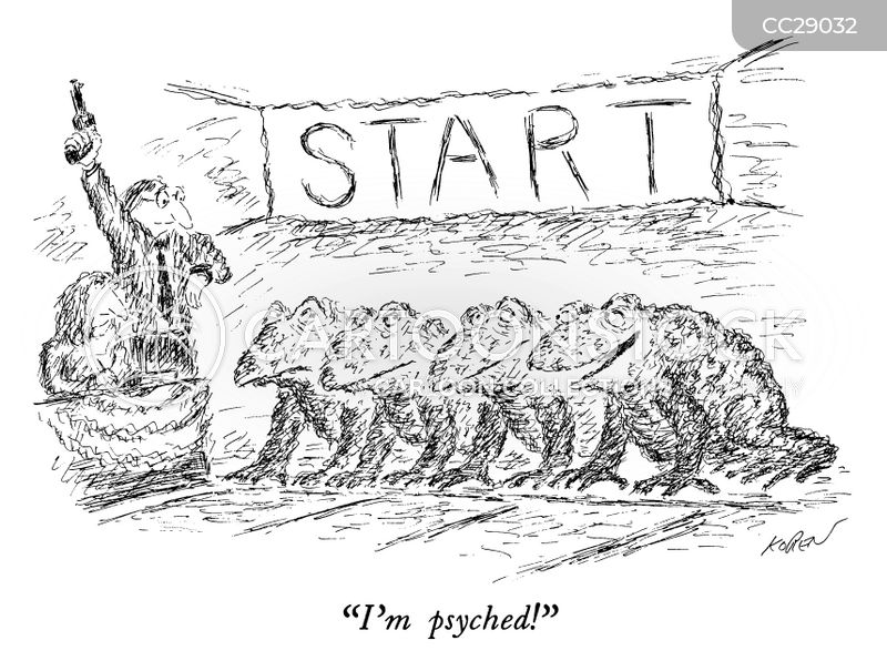 starting point cartoon