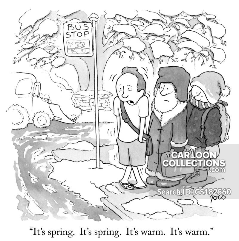warm season cartoon