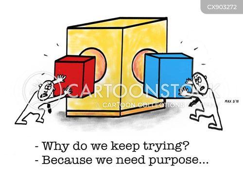 lifes purpose cartoon