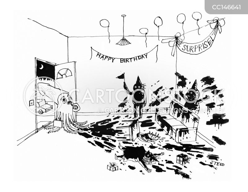 defense mechanism cartoon