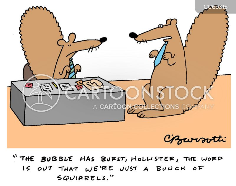 bubble cartoon