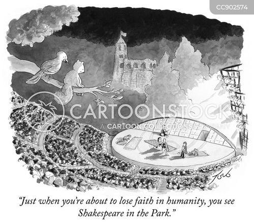 outdoor theatres cartoon