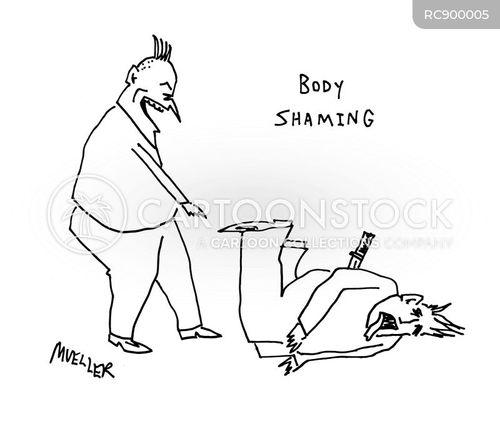 body shaming cartoon